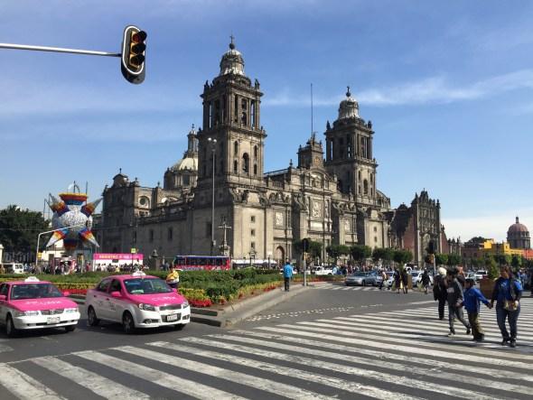 La catedral de la Ciudad de México