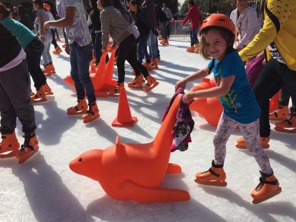 Trineos para patinaje sobre hielo