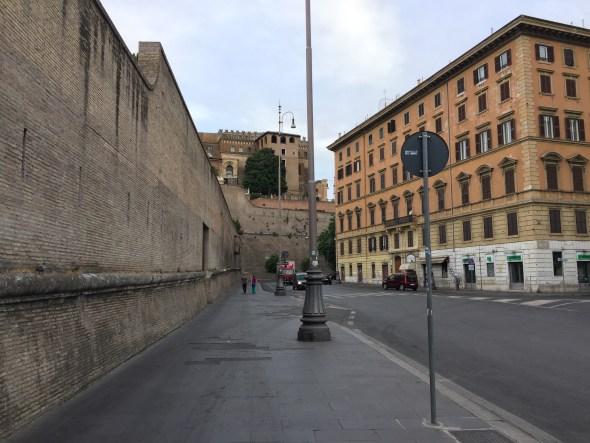 Muros del Vaticano
