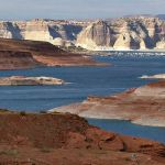 Lago Powell en Arizona