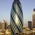 30 St Mary Axe en Londres