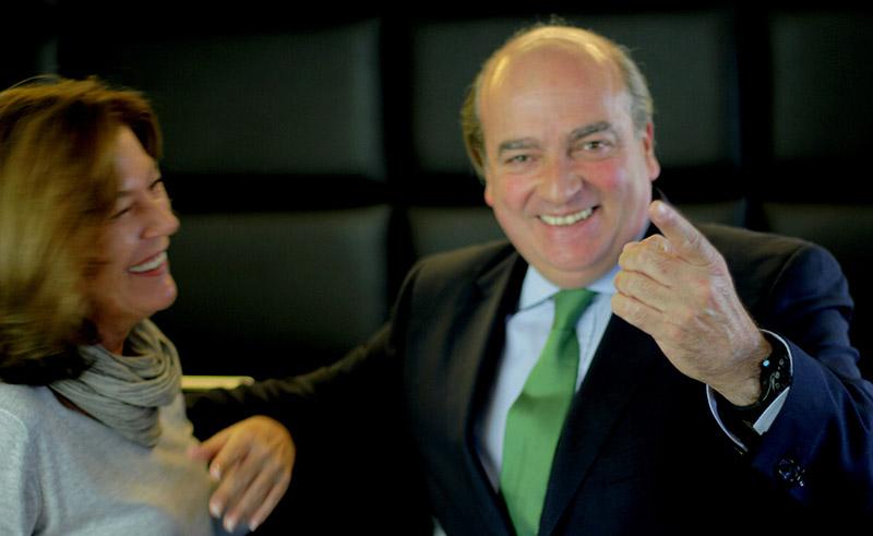 Luis Miguel Martín Rubio y Pilar Fuertes Aguilar. Entrevista