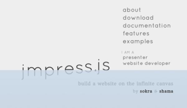 top best html5 and javascript presentation framework - jmpressjs