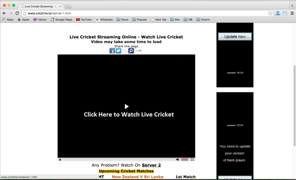 best sites to watch cricket world cup 2015 online for free - crictime
