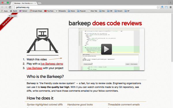 best code review tools for programmers  - getbarkeep