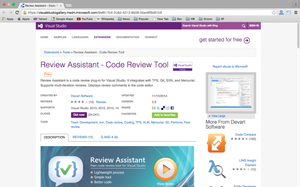 best code review tools for programmers - review-assistant