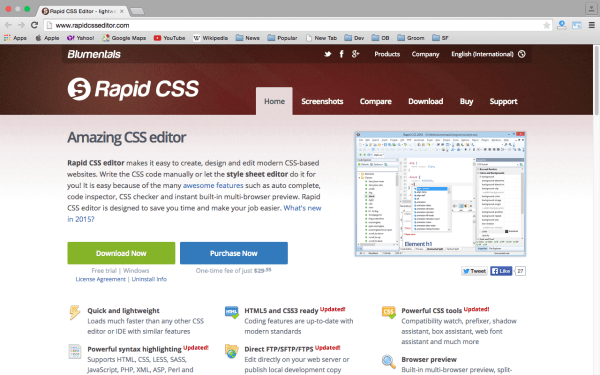 rapidcsstool - best css tools for year 2015