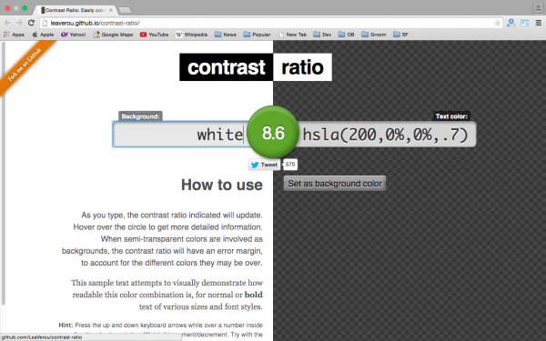 ratio - best css tools for year 2015