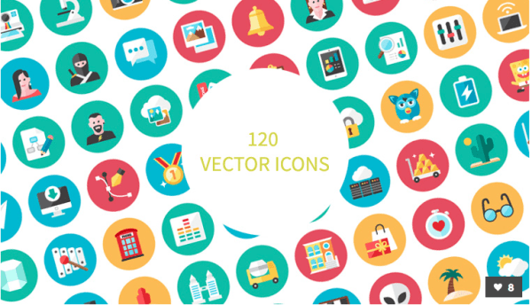 vector-icons - best resources for web designers for 2015
