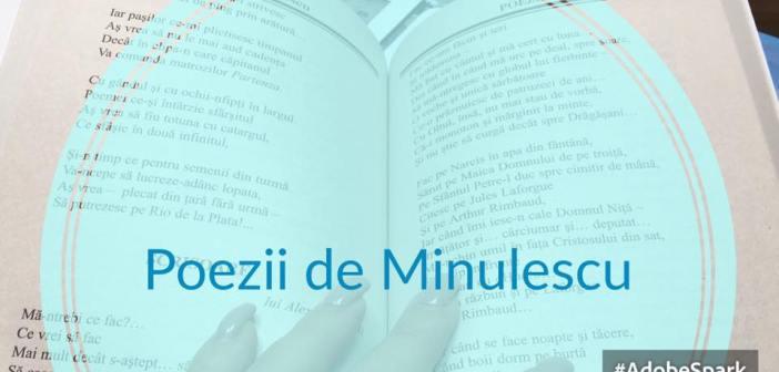 Recomandare Poezii de Ion Minulescu