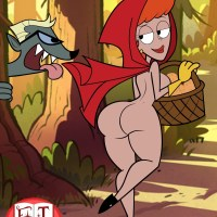 Dexter's Mom as Red Riding Hood... and nothing more!