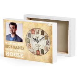 Neat Gifting Birthday Gifts Husband Pinterest Birthday Gifts Husband Uk Husband Art Husband Photo Canvas Gift Clock Birthday Gifts