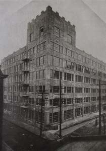 One of the five buildings of the Crunden-Martin complex in 1923.