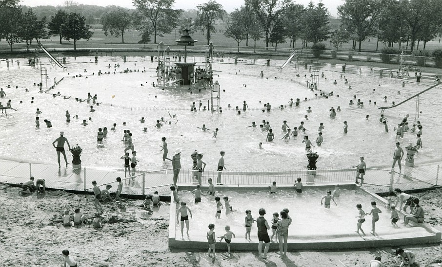 Dearborn S Seashore Pool Remembered In Rare Photos 70th Anniversary Celebration