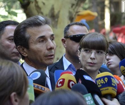 bidzina ivanishvili - eka khvedelidze 2012-10-01