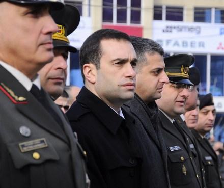 irakli alasania - giorgi kikadze funeral 2013-01-05 IPN