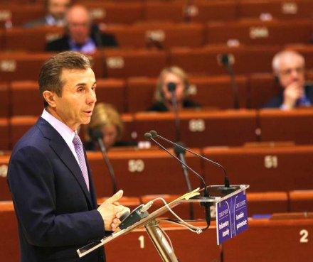 bidzina ivanishvili - PACE speech2