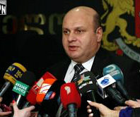 Nodar Khaduri, Minister of Finance, insists 'this is really a temporary decline.'