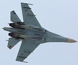 Sukhoi SU-27. (Photo: merlion86.)