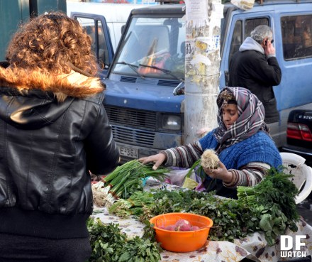vegetable street vendor
