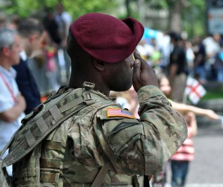 US_soldier_in_Tbilisi_Independence_Day_2015