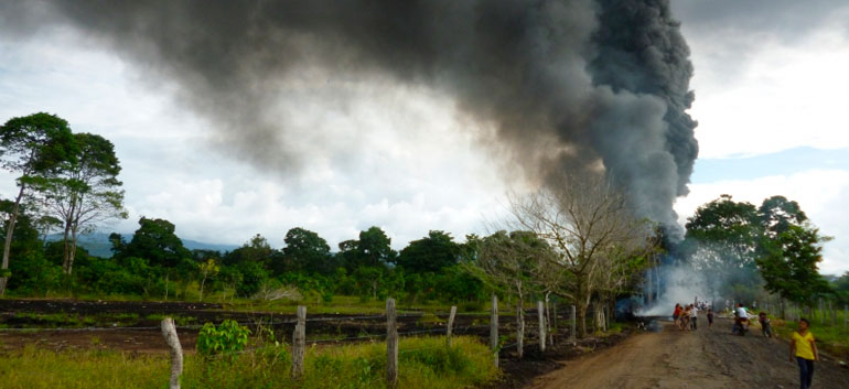 ELN launches attack against oil pipeline infrastructure in Colombia