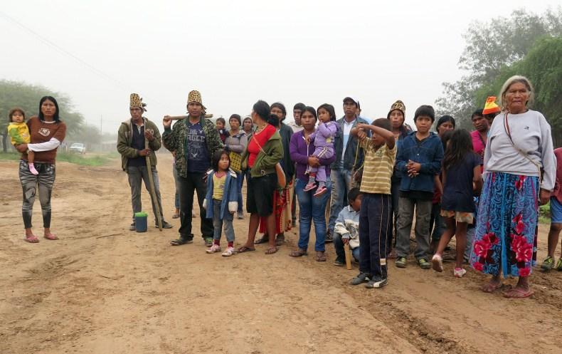 Members of the the Ayoreo community of Cuyabia. Photo: Iniciativa Amotocodie