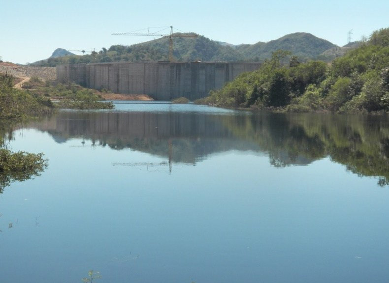The Barro Blanco Dam will have a disastrous effect on Ngäbe communities inside the Comarca Ngäbe-Bugle and campesino communities also living on the banks of the river. Photo Oscar Sogandares
