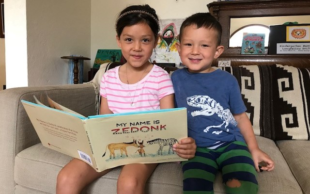 Children's Book Review: My Name is Zedonk