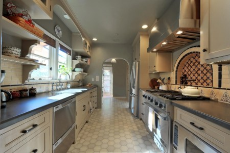 well finished mexican kitchen design