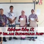 DAILY ACTIVITY : KELULUSAN KELAS IX SMP ISLAM SUDIRMAN AMPEL
