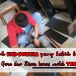 UNTUK INDONESIA YANG LEBIK BAIK, GURU DAN SISWA HARUS MELEK TIK