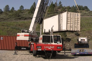 Shipping Container Crane Services