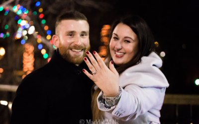 A Proposal in the Park: Congratulations, Jameila and Nathan!
