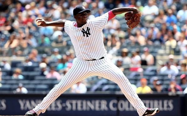 Michael Pineda had 16 K's and Zero walks today
