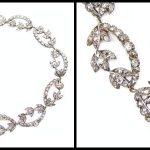 18th century diamond necklace.