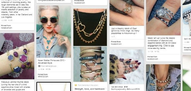 Pin with me: Jewelry styling inspiration.