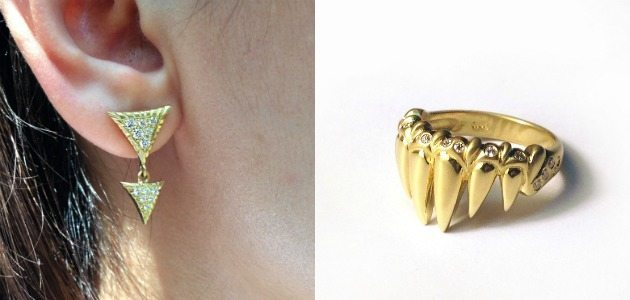 The Seabeast: a new collection by Lisa Kim Fine Jewelry.