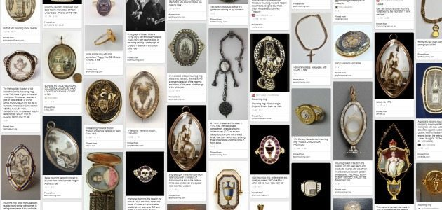 Pin with me: mourning and memento mori jewelry.