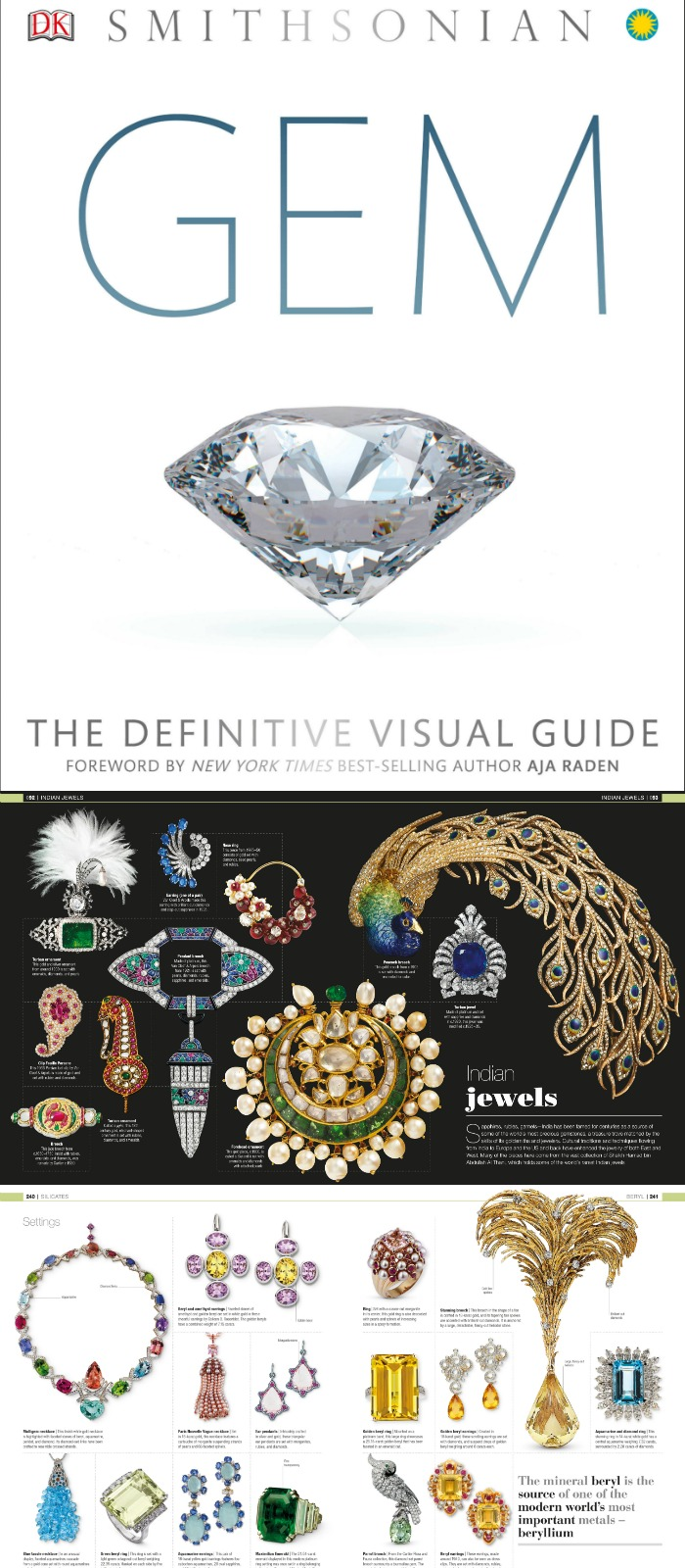 My review of Gem; The Definitive Visual Guide. This is the new book any gemstone or jewelry lover needs to have on their bookshelf immediately.
