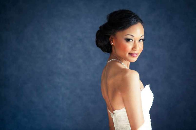 pretty bridal portrait charleston sc
