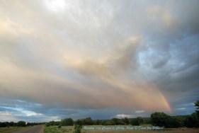 Rainbow near Canyon de Chelly Photo © Diane Joy Schmidt