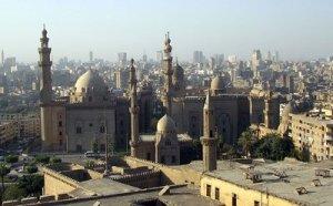 Vistas desde La Ciudadela en El Cairo