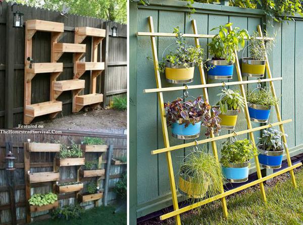 Huerta en casa ideas artesanales para el huerto peque o for Ideas para organizar un apartamento pequeno