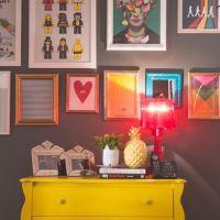 Como fazer quadros decorativos - frases e imagens criativas