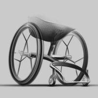 Imprimen silla de ruedas en 3D