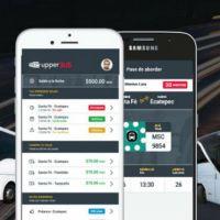 Upperbus, innovador transporte público