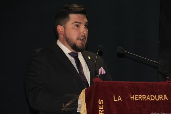 ENRIQUE TRUJILLO PREGONA SEMANA SANTA LA HERRADURA 2017