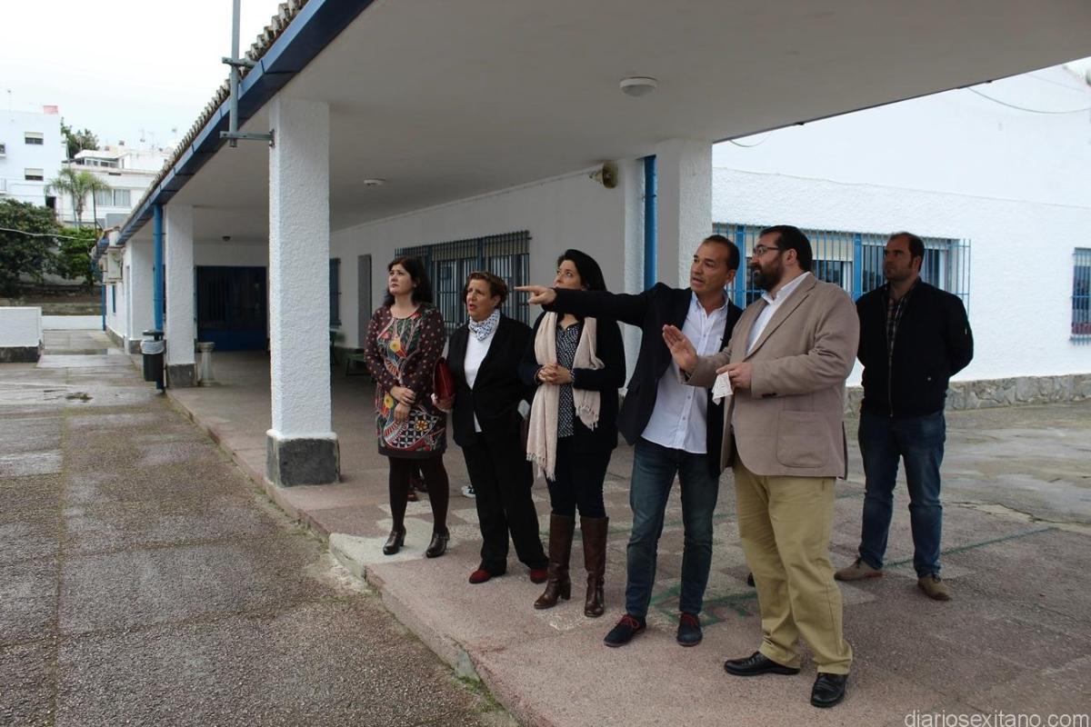 Educación toma nota de las deficiencias y carencias del los colegios La Santa Cruz, San Miguel y Río Verde