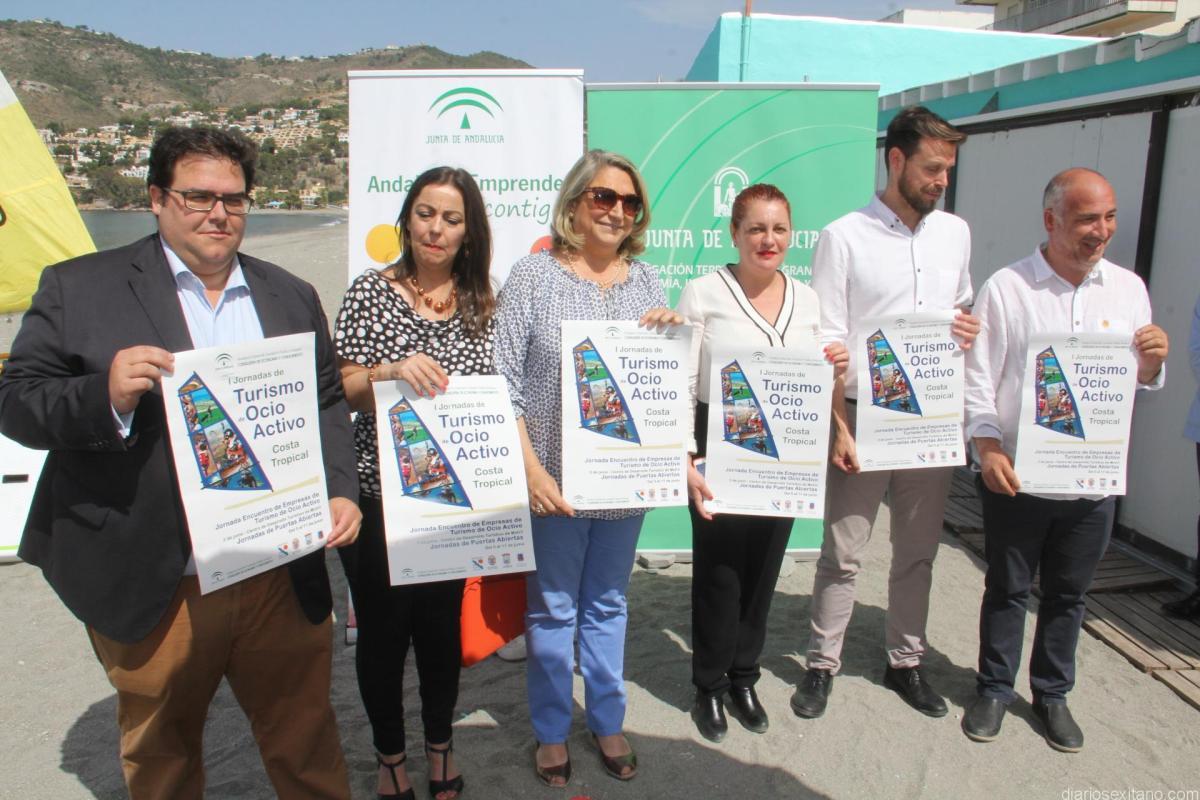 La alcaldesa de Almuñécar rechaza la instalación de la mejillonera en su Costa y el traslado de las instalaciones náuticas a extremos de las playas.